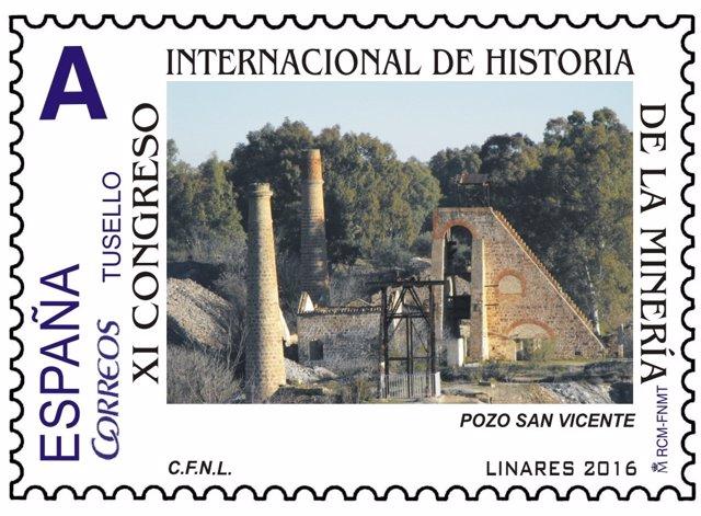 Correos emite un sello especial por el xi congreso for Oficina internacional de origen correos