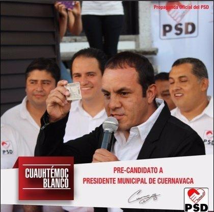 El exfutbolista mexicano Cuauhtémoc Blanco cobró 376.000 dólares por ser candidato del Partido Socialdemócrata