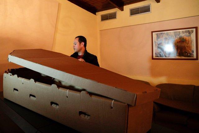 Alejandro blanchard y su 'biocofre'