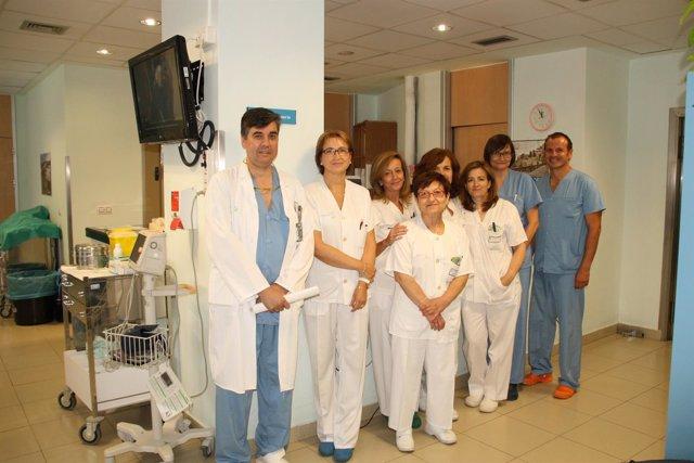NOTA DE PRENSA Y FOTO SANIDAD HOSPITAL DE CUENCA