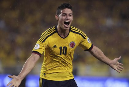 Colombia convoca a James Rodríguez para los partidos ante Venezuela y Brasil