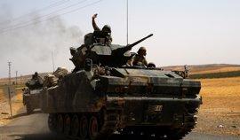 Turquía incrementa sus ataques a las milicias kurdas en la frontera con Siria