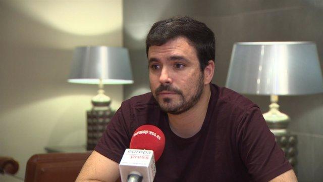 """Garzón: """"Sería un drama"""" que """"se rompiese"""" Podemos"""