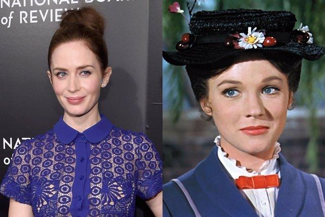 Emily Blunt, favorita para ser Mary Poppins