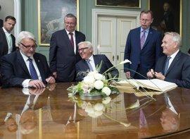 """Alemania, Polonia y Francia reactivan 25 años después el """"Triángulo de Weimar"""" para potenciar la confianza en la UE"""