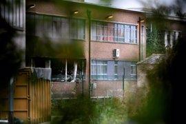Cinco detenidos en relación con incendio intencionado en un instituto oficial de Bruselas