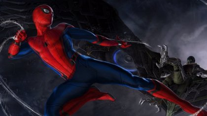 Spiderman Homecoming: Una misteriosa sombra acecha a Tom Holland