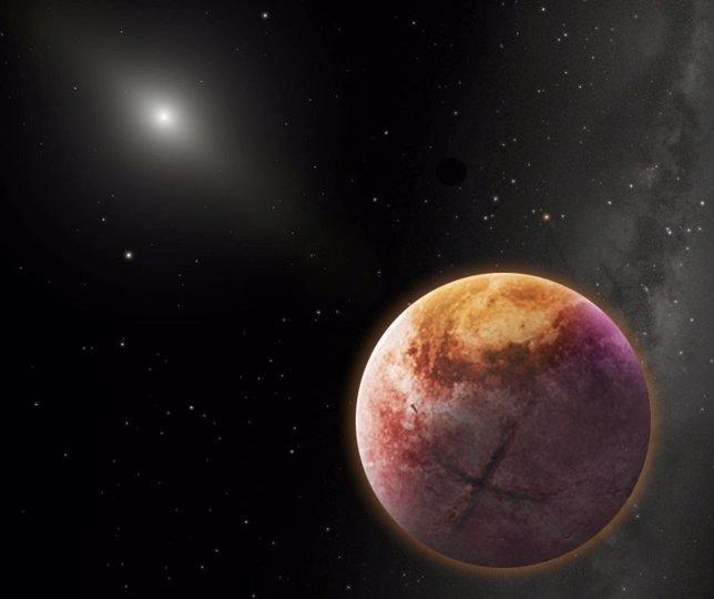 Posible aspecto del Planeta 9