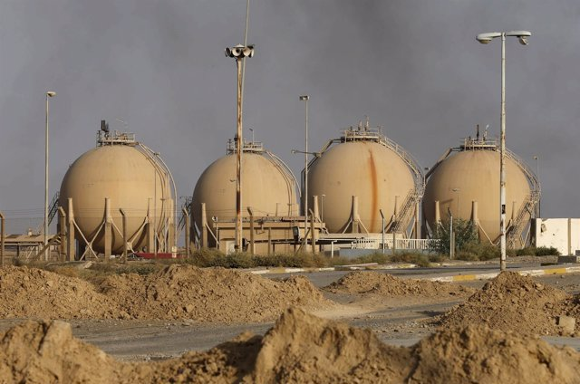 Refinería de petróleo de Baiji (Irak)