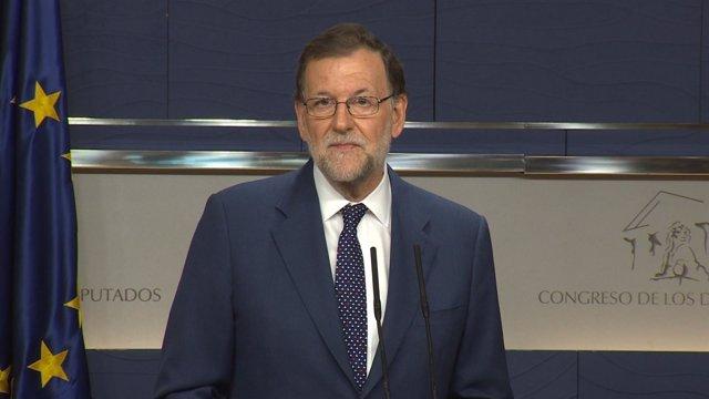 Rajoy garantiza que seguirá intentando la investidura aunque fracase el viernes