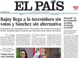 Las portadas de los periódicos de hoy, martes 30 de junio de 2016
