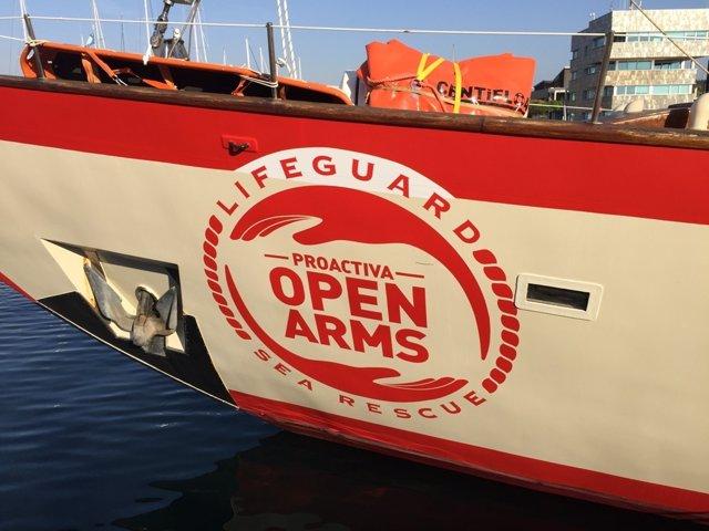El barco Astral de Proactiva Open Arms