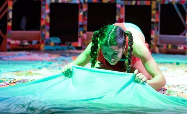 Un momento del espectáculo de danza infantil 'Almazuela'