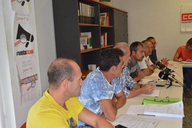 CC.OO Y UGT Denuncian Precariedad Laboral En Un Matadero Del Grupo Vall Companys