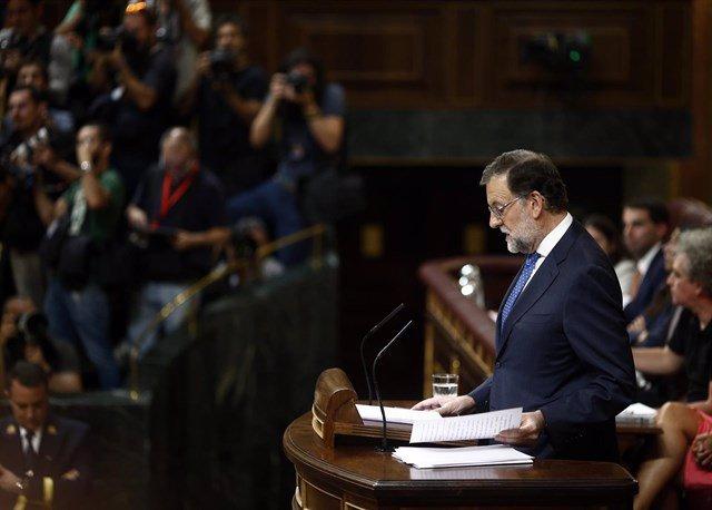 Debate investidura de Rajoy