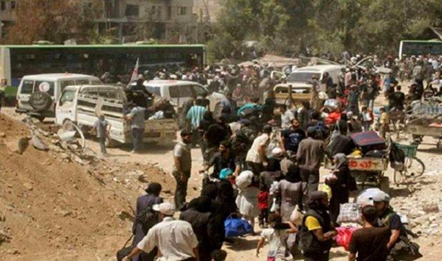 Evacuación de Daraya