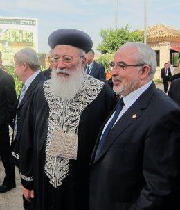El Gran Rabino Sefardita de Israel y el presidente de la UCAM