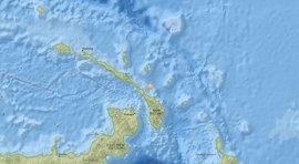 Registrados dos terremotos de magnitud 6,7 cerca de Papúa Nueva Guinea