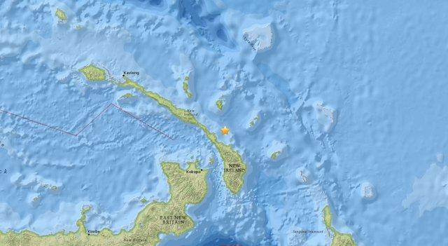 Terremoto cerca de Papúa Nueva Guinea