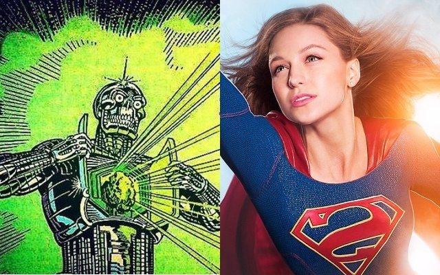 Metallo se enfrentará a Supergirl en la 2ª temporada