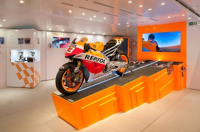 La moto de Márquez