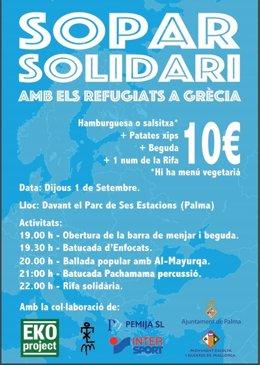 Sopar Solidari en Mallorca