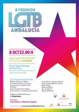 Cartel Premios LGTB Andalucia 2016