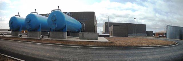 Depuradora de agua regenerada