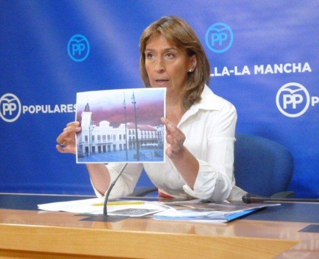 Ana Guarinos, presidenta del Grupo Popular en las Cortes de C-LM
