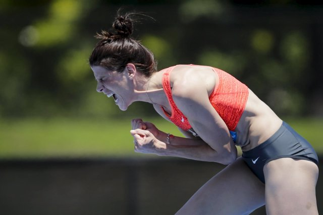 Ruth Beitia en la Diamond League