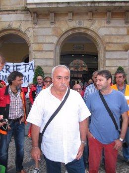 El Responsable De Acción Sindical De CCOO, Ernesto Fernández