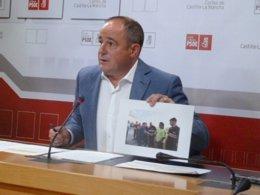 Emilio Sáez, diputado del PSOE en las Cortes de C-LM