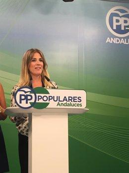 La vicesecretaria de Acción Política y Municipal del PP-A, Ana Mestre