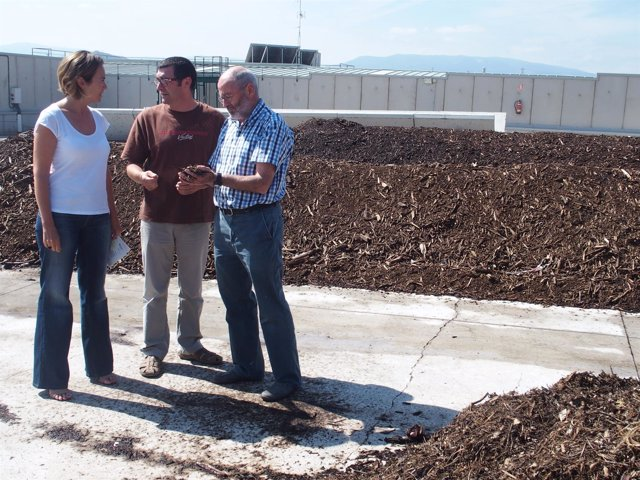 Apertura a la ciudadanía de la planta de compostaje