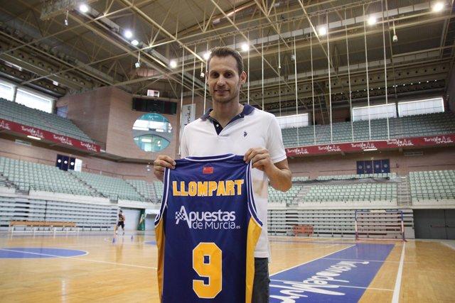 Pedro Llompart, presentado en Murcia