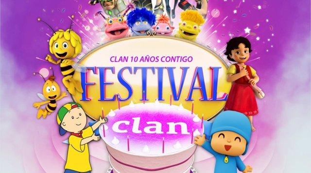 Festival Clan 'Ven a mi cumple'