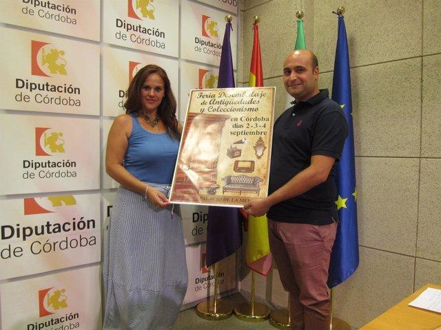 Presentación de la Feria de Antigüedades y Coleccionismo de Córdoba