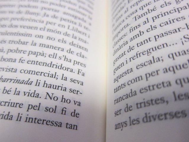 Literatura, libro, catalán