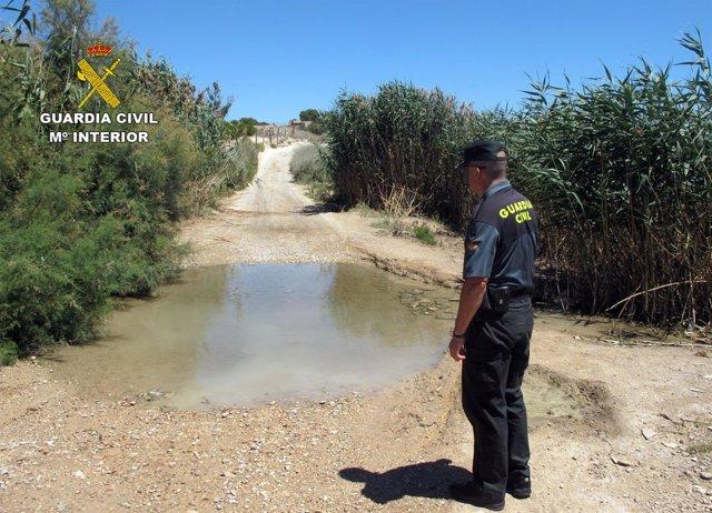 Guardia Civil investiga al responsable de una granja por vertidos ilegales