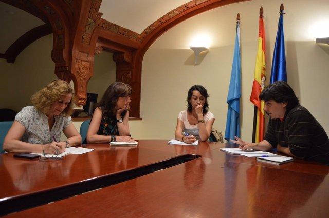 Ignacio Fernández del Páramo se reúne con ecologistas