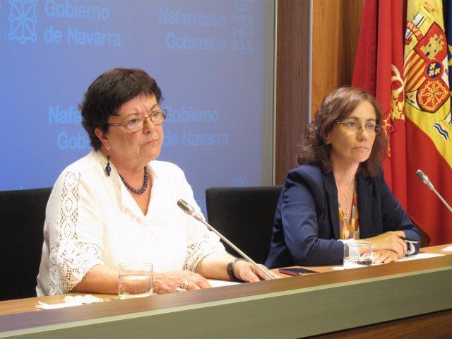 María José Beaumont y Ana Herrera.