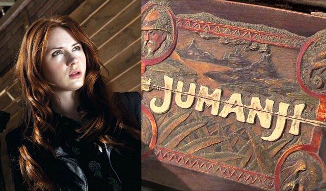 Karen Gillan se une a Jumanji