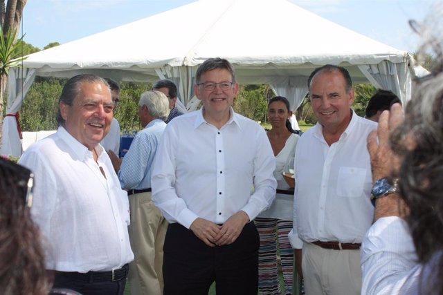 Ndp Fotos: Ximo Puig Asiste Al Almuerzo Empresarial Organizado Por El Presidente