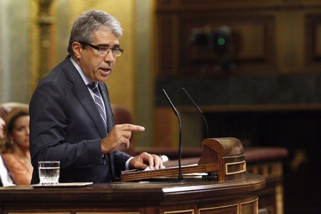 Francesc Homs en el debate de investidura de Mariano Rajoy