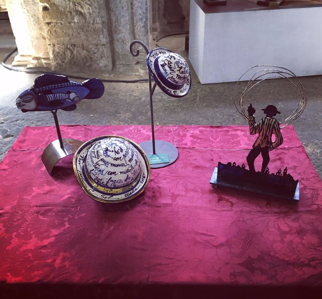 Trofeos y detalles que se entregarán en las III Jornadas Sabina por Aquí.