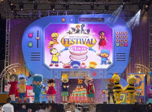Imagen del  'Festival Clan ¡ven a mi cumple!'.