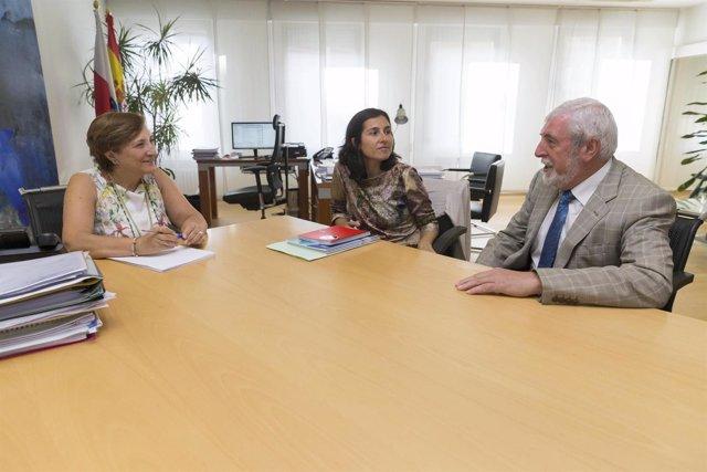 Reunión de Real con representantes de GAES