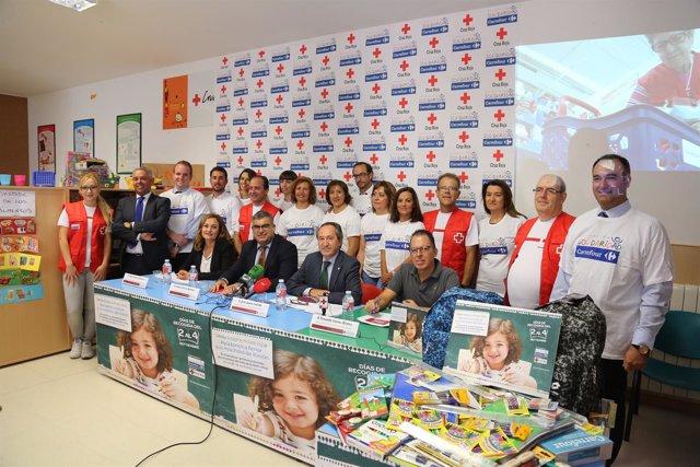 Ndp. Carrefour Y Cruz Roja Ponen En Marcha La VIII Edición De La Campaña Vuelta