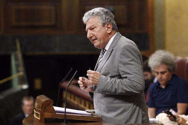 Pedro Quevedo (Nueva Canarias) en el debate de investidura de Rajoy