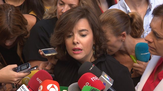 Santamaría admite que Rajoy necesita al PSOE